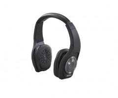 Denon On-Ear Headphones Globe Cruiser - AH-NCW500 Black Angled