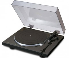 Denon Turntable DP-300F Open