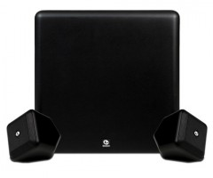 Boston Acoustics SoundWare XS 2.1 Stereo Speaker System Black