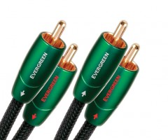 AudioQuest RCA to RCA Cable - Evergreen