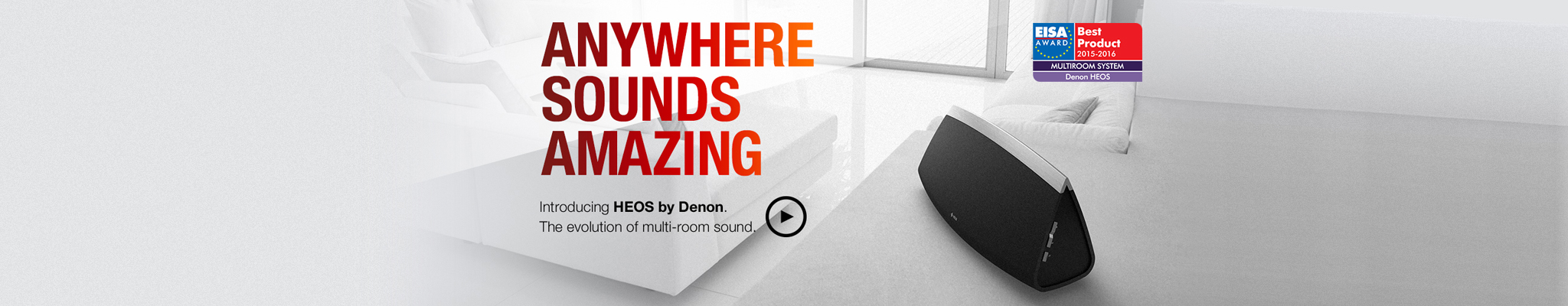 HEOS by Denon | Wireless Multi-Room Speaker System
