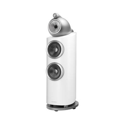 Bowers & Wilkins | Floorstanding Speaker – 802 D3 Satin White