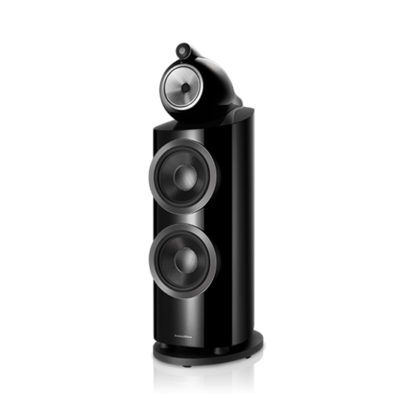 Bowers & Wilkins | Floorstanding Speaker – 800 D3 Black