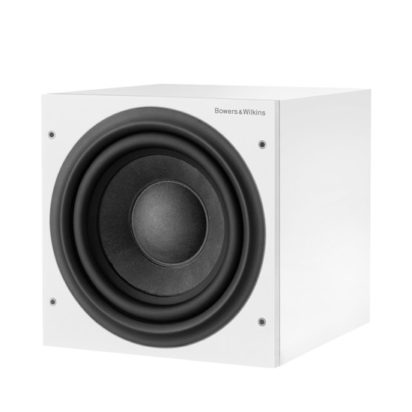 Bowers & Wilkins Subwoofer ASW610 White Grille Off