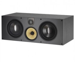 Bowers & Wilkins Centre Speaker HTM61 Black Ash Off