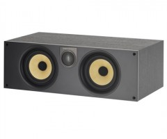 Bowers & Wilkins Centre Speaker HTM62 Black Ash Off