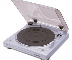 Denon Turntable DP-29F Silver Open