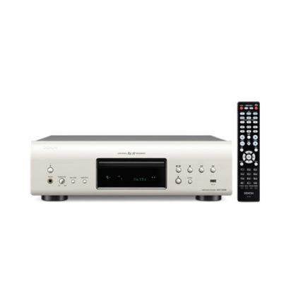 Denon Super Audio CD Player DCD-1520 Silver with Remote
