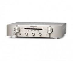 Marantz Amplifier PM6005 Silver Angled