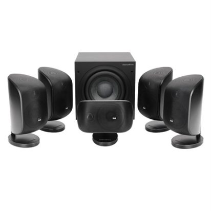 Bowers & Wilkins Mini Theatre System MT-50 Matte Black Off