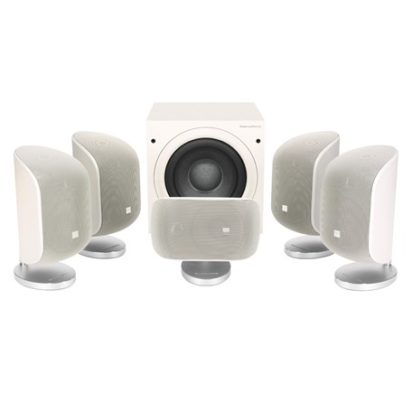 Bowers & Wilkins Mini Theatre System MT-50 Matte White Off