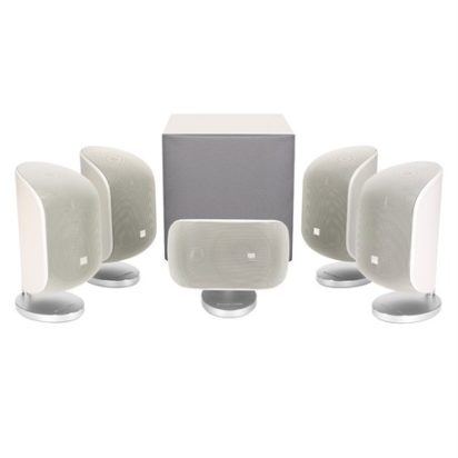 Bowers & Wilkins Mini Theatre System MT-50 Matte White On