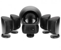 Bowers & Wilkins Mini Theatre System MT-60D Matte Black On