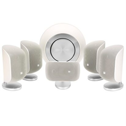 Bowers & Wilkins Mini Theatre System MT-60D Matte White On
