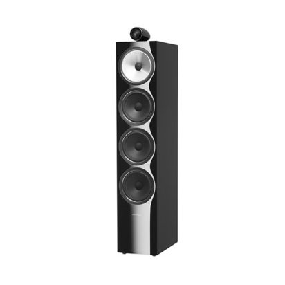 Bowers & Wilkins | Floorstanding Speaker – 702 S2 Black Grille Off