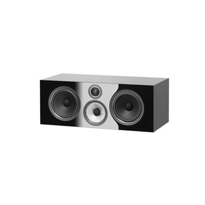 Bowers & Wilkins | Centre Channel Speaker – HTM71 S2 Black Grille Off