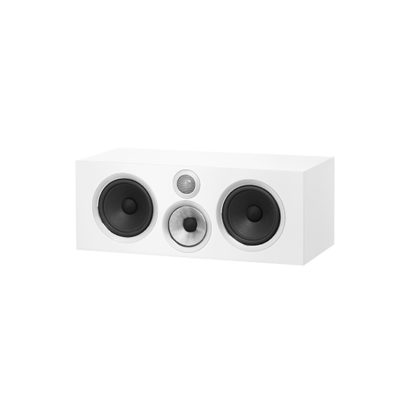 Bowers & Wilkins | Centre Channel Speaker – HTM71 S2 White Grille Off