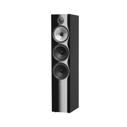 Bowers & Wilkins | Floorstanding Speaker – 703 S2 Black Grille Off