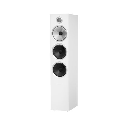 Bowers & Wilkins | Floorstanding Speaker – 703 S2 White Grille Off