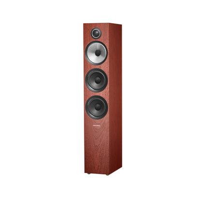 Bowers & Wilkins | Floorstanding Speaker – 704 S2 Rosenut Grille Off