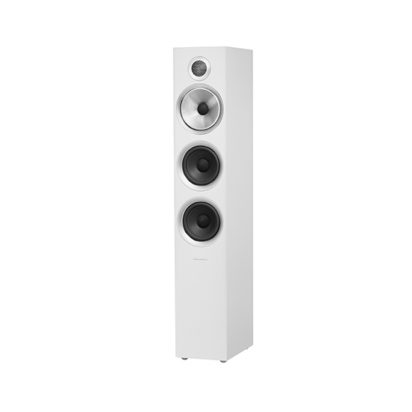 Bowers & Wilkins | Floorstanding Speaker – 704 S2 White Grille Off