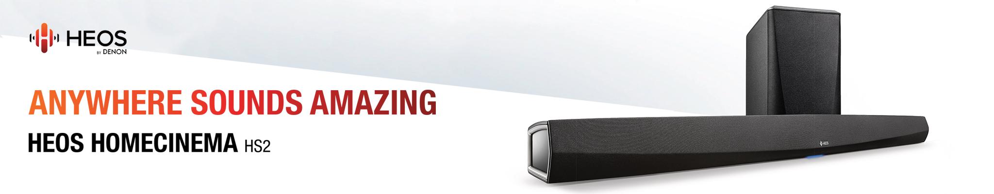 HEOS By Denon | HEOS HomeCinema S2 4K - Online Hi-Fi | NZ | Hi-Fi Audio