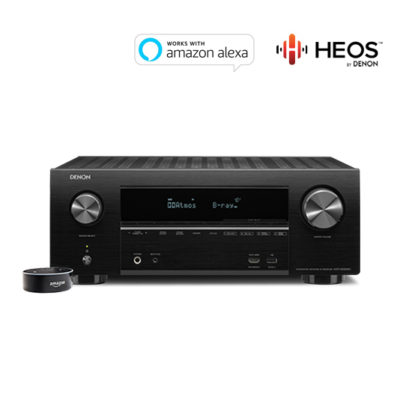 AVR-X2500H with Echo Dot