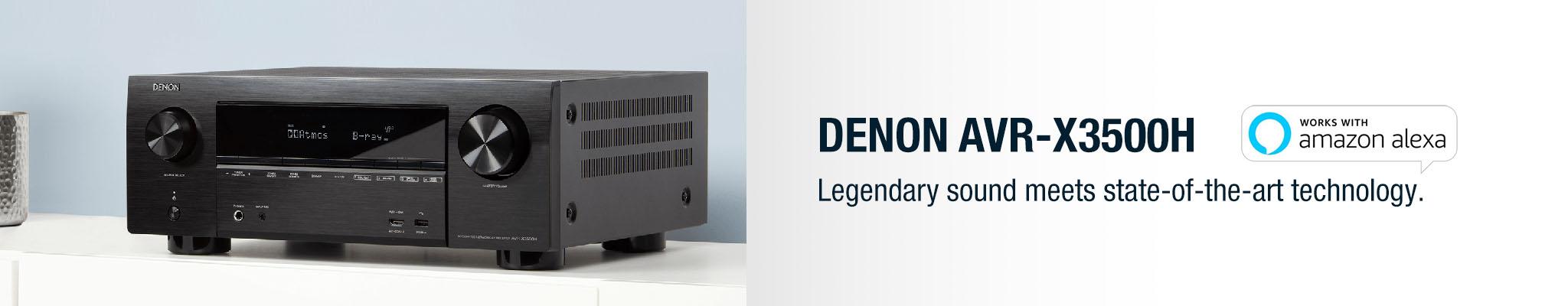Denon | AV Receiver - AVR-X3500H - Online Hi-Fi | NZ | Hi-Fi