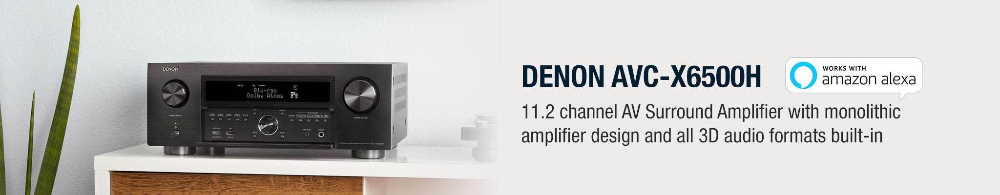 Denon | AV Amplifier AVC-X6500H - Online Hi-Fi | NZ | Hi-Fi