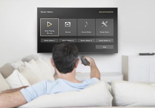 AV receiver smart tv connectivity