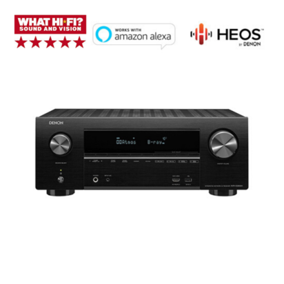 AVRX 2600 front image with What HIFI 5 star award