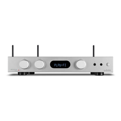 Audiolab 6000A Play Silver Front