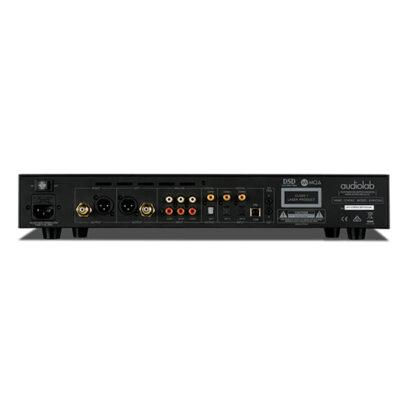 Audiolab 8300CDQ Black Rear