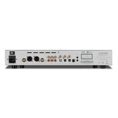 Audiolab 8300CDQ Silver Rear